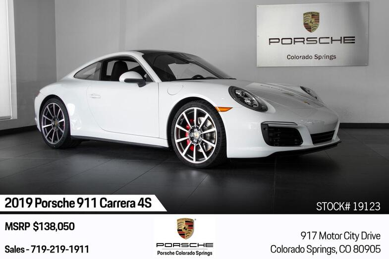 2019 Porsche 911 Carrera 4S Colorado Springs CO