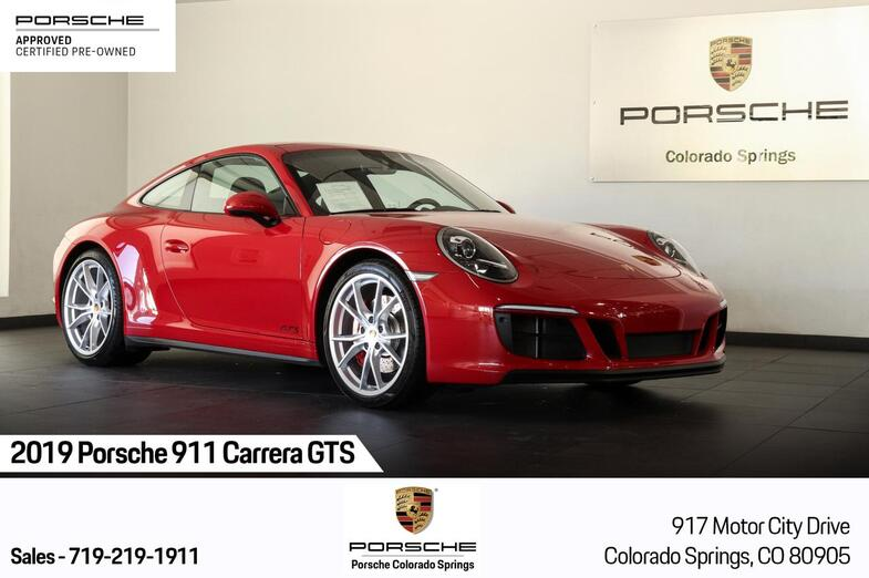2019 Porsche 911 Carrera GTS Colorado Springs CO