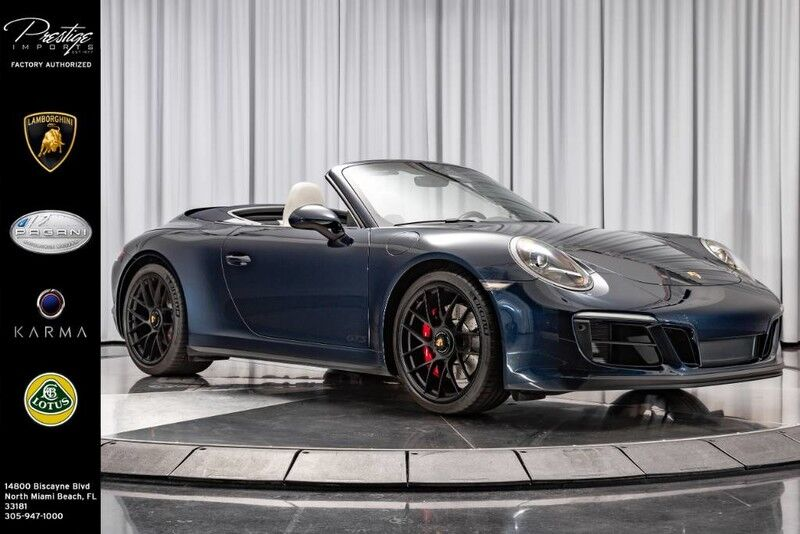 2019_Porsche_911_Carrera GTS_ North Miami FL