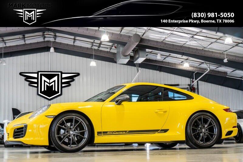 2019_Porsche_911_Carrera T_ Boerne TX