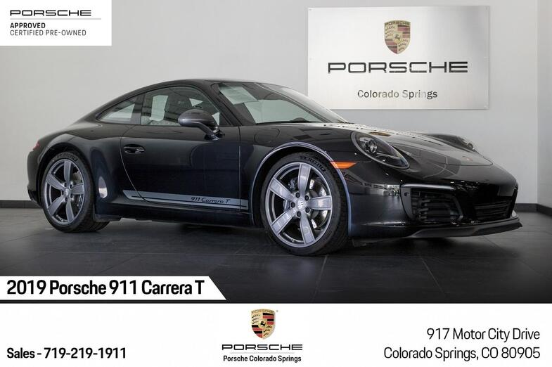 2019 Porsche 911 Carrera T Colorado Springs CO