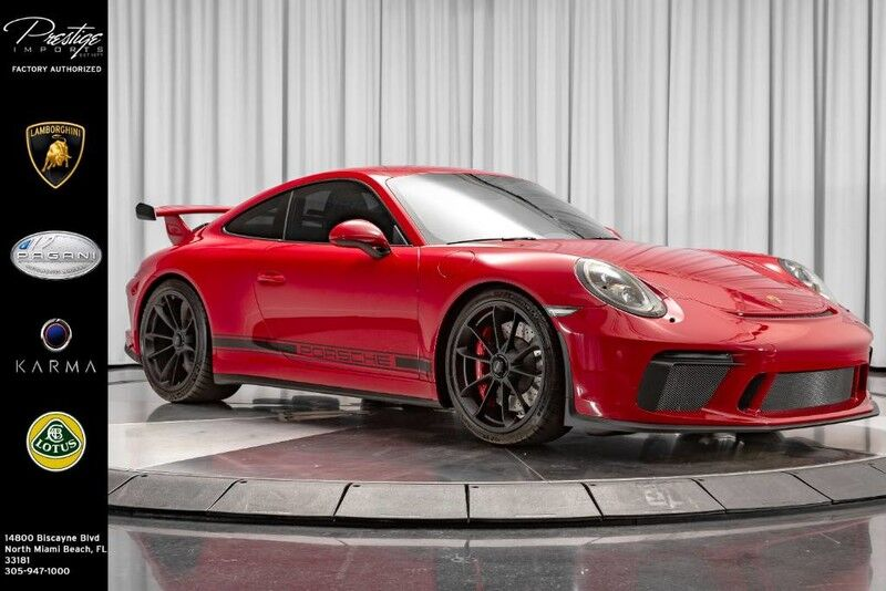 2019_Porsche_911_GT3_ North Miami Beach FL