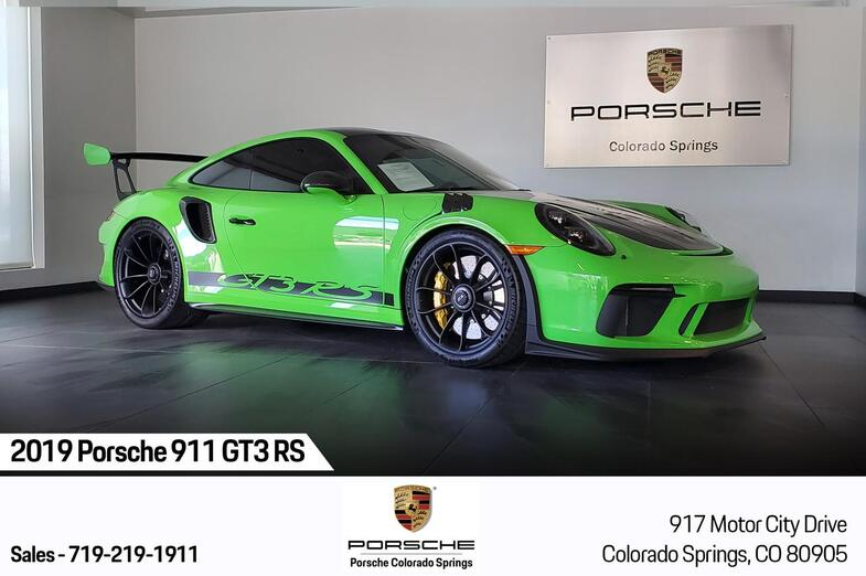 2019 Porsche 911 GT3 RS Colorado Springs CO