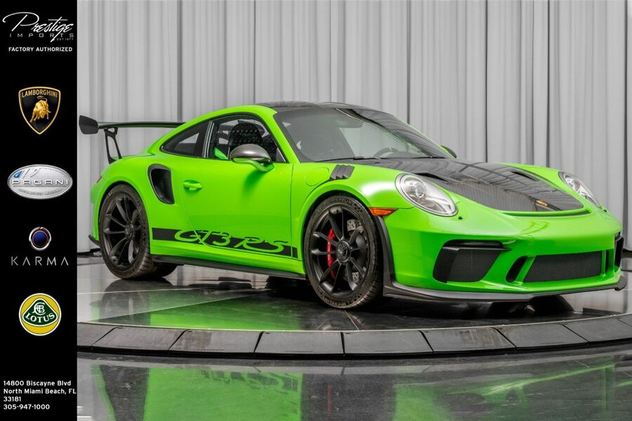 2019_Porsche_911_GT3 RS_ North Miami Beach FL
