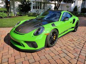 Porsche 911 GT3 RS Weissach 2019