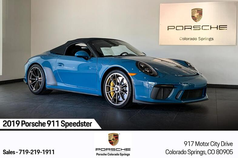 2019 Porsche 911 Speedster Colorado Springs CO