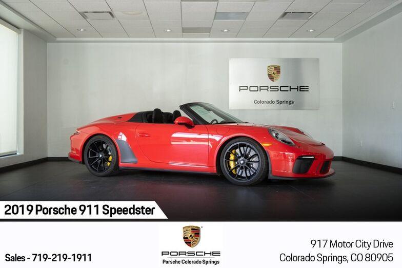 2019 Porsche 911 Speedster Colorado Springs CO