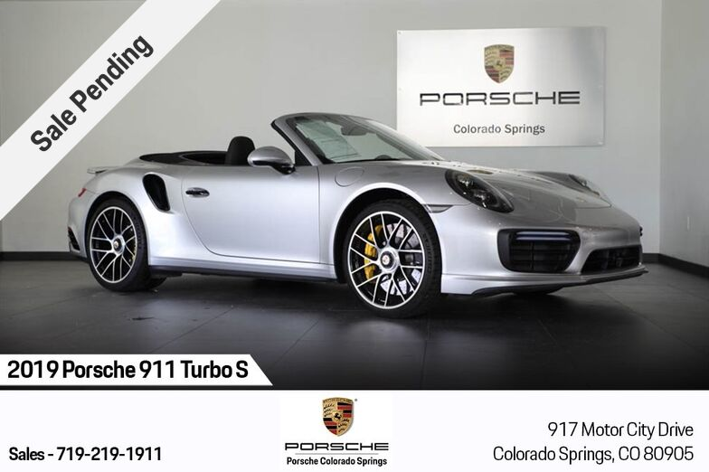 2019 Porsche 911 Turbo S Colorado Springs CO