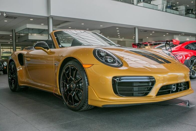 2019 Porsche 911 Turbo S Exclusive Series Cabriolet Highland Park IL