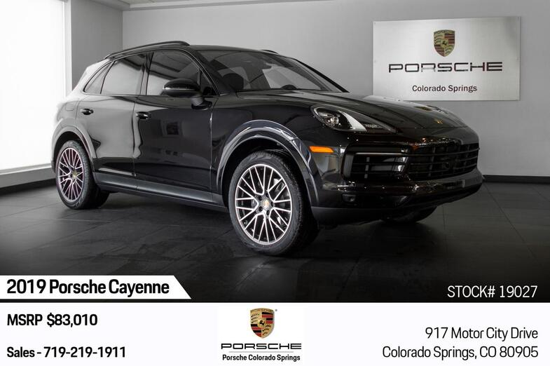 2019 Porsche Cayenne  Colorado Springs CO