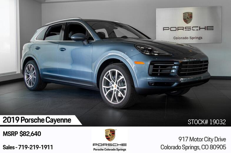 2019 Porsche Cayenne Cayenne Colorado Springs CO