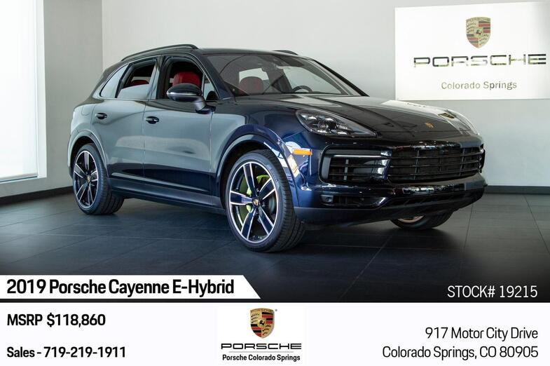 2019 Porsche Cayenne Cayenne E-Hybrid Colorado Springs CO