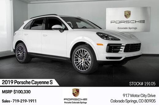 2019 Porsche Cayenne Cayenne S Colorado Springs CO