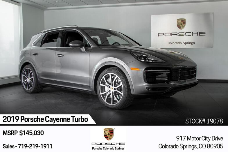 2019 Porsche Cayenne Cayenne Turbo Colorado Springs CO