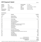 2019 Porsche Cayenne E-Hybrid Pompano Beach FL