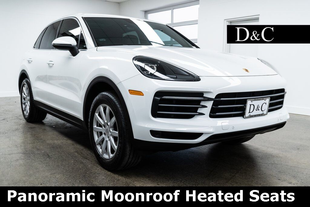 2019 Porsche Cayenne Panoramic Roof Heated Seats Portland OR