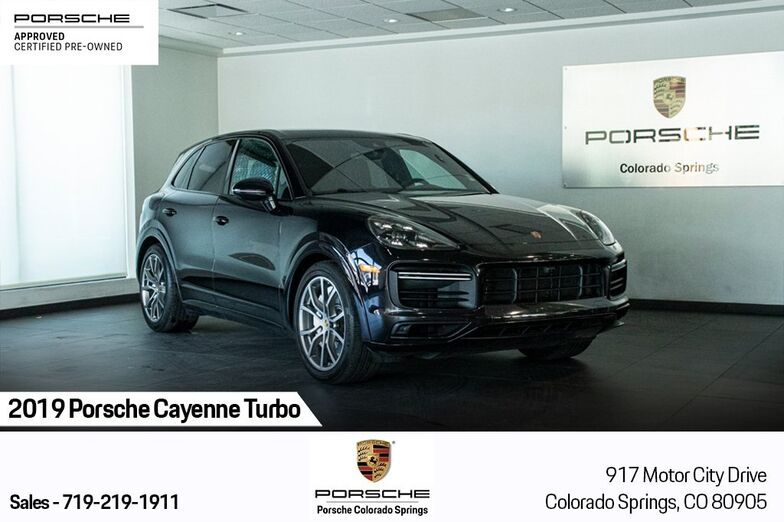 2019 Porsche Cayenne Turbo Colorado Springs CO