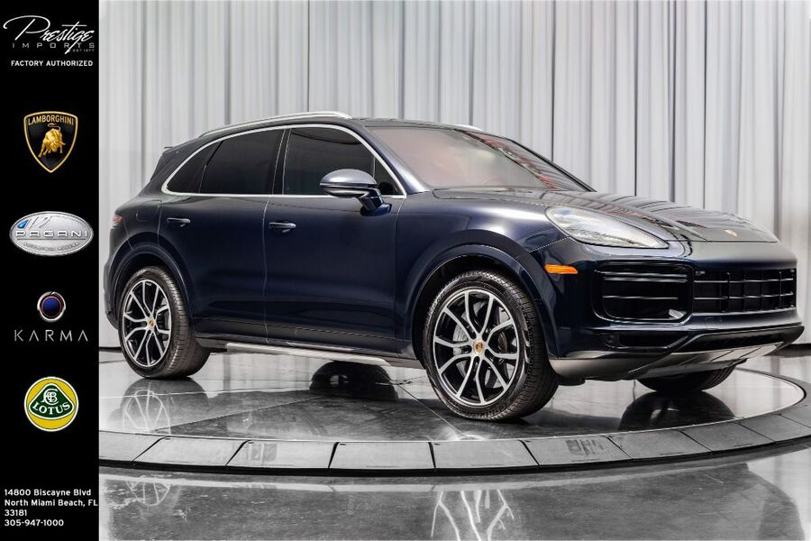 2019_Porsche_Cayenne_Turbo_ North Miami Beach FL