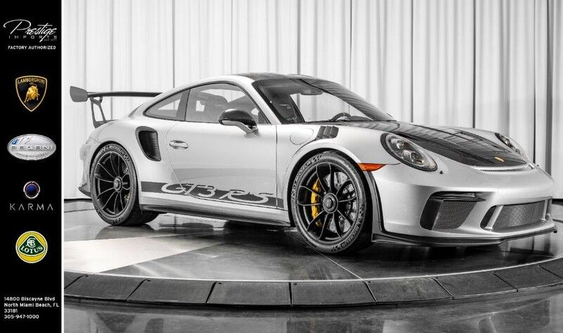 2019_Porsche_GT3 RS_Weissach Package_ North Miami FL