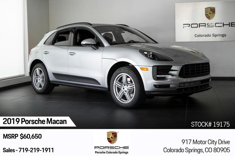 2019 Porsche Macan  Colorado Springs CO