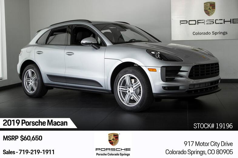 2019 Porsche Macan Macan Colorado Springs CO