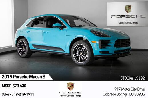 2019 Porsche Macan Macan S Colorado Springs CO