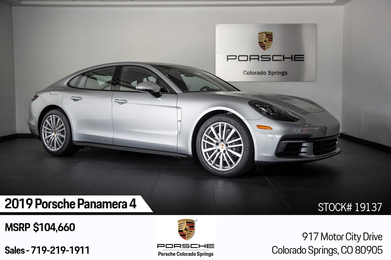 2019 Porsche Panamera Panamera 4 Colorado Springs CO