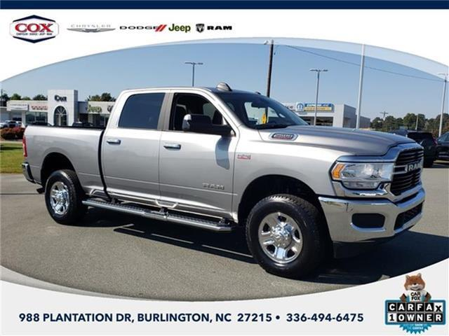 2019 RAM 2500 Big Horn 4x4 Crew Cab 149 in. WB Burlington NC