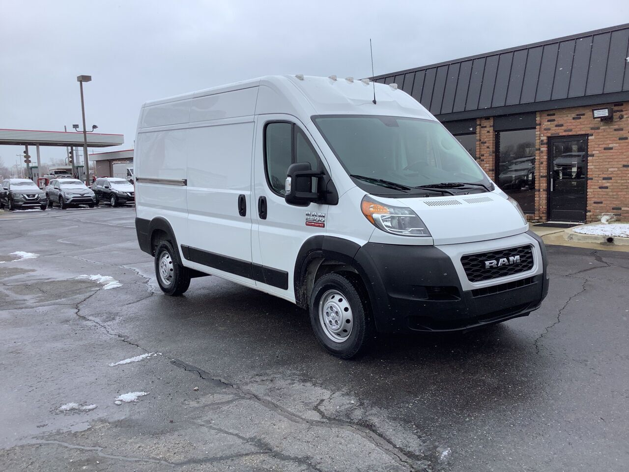 2019 RAM ProMaster Cargo 2500 136 WB 3dr High Roof Cargo Van