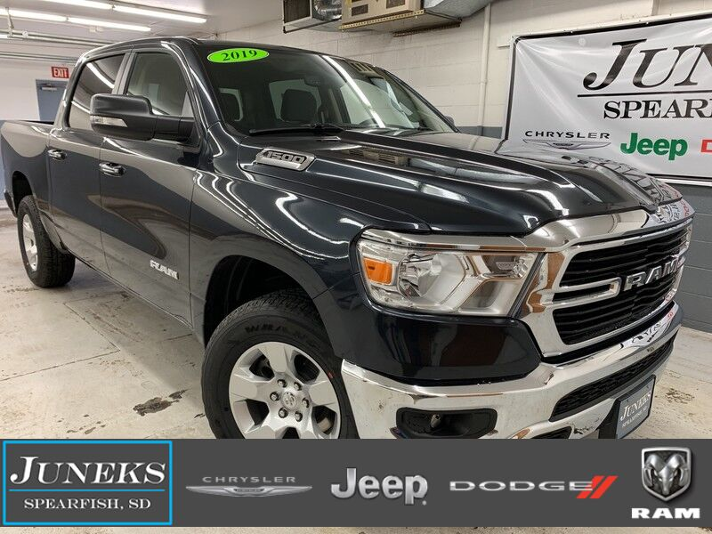 New 2019 Ram 1500 Big Horn    Lone Star Crew Cab 4x4 5 U0026 39 7 Box In Spearfish Sd