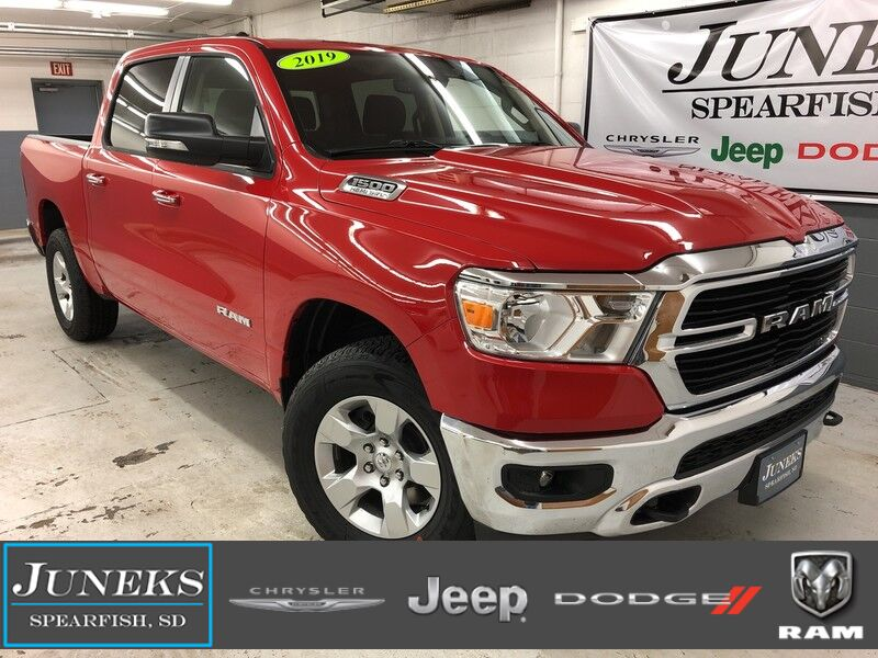 2019 Ram 1500 BIG HORN / LONE STAR CREW CAB 4X4 5'7 BOX Spearfish SD
