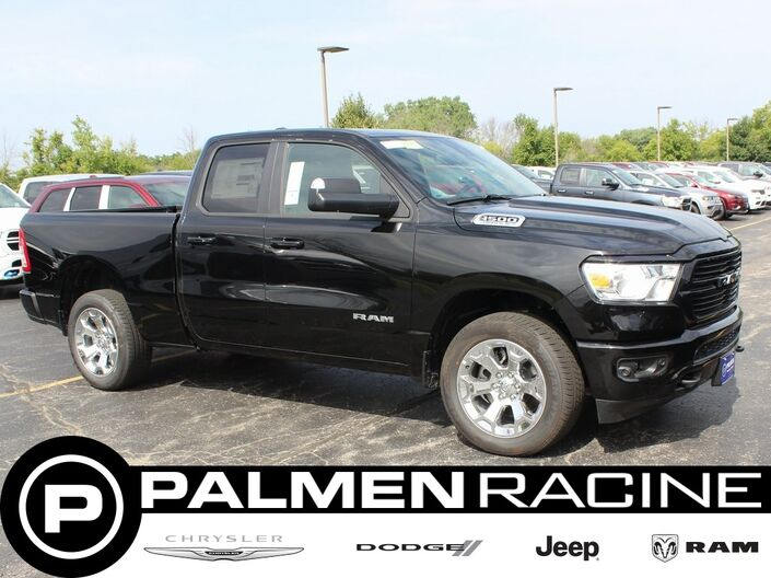 2019 Ram 1500 BIG HORN / LONE STAR QUAD CAB 4X4 6'4 BOX Racine WI