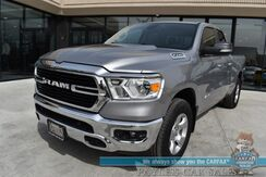 2019_Ram_1500_Big Horn / 4X4 / Quad Cab / Auto Start / Power & Heated Cloth Seats / Heated Steering Wheel / Seats 6 / Bluetooth / Apple CarPlay & Google Android Auto / Back Up Camera / Cruise Control / Tow Pkg / 24 MPG / 1-Owner_ Anchorage AK