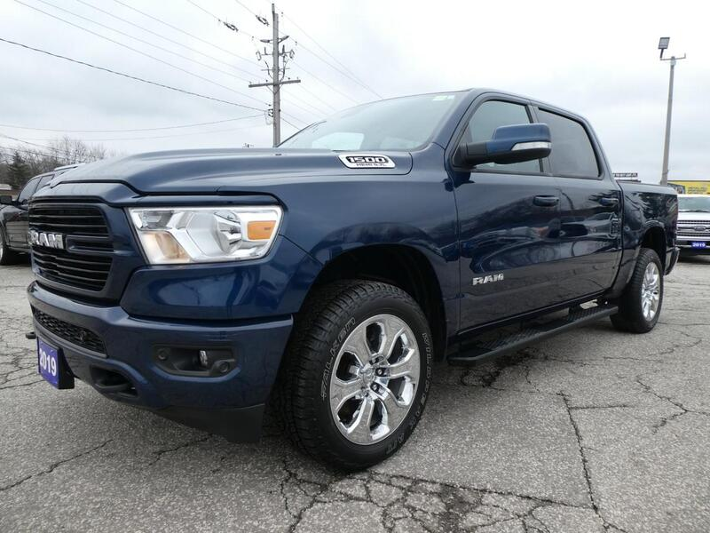 2019 Ram 1500 Big Horn Heated Seats Remote Start Heated Steering Essex ON