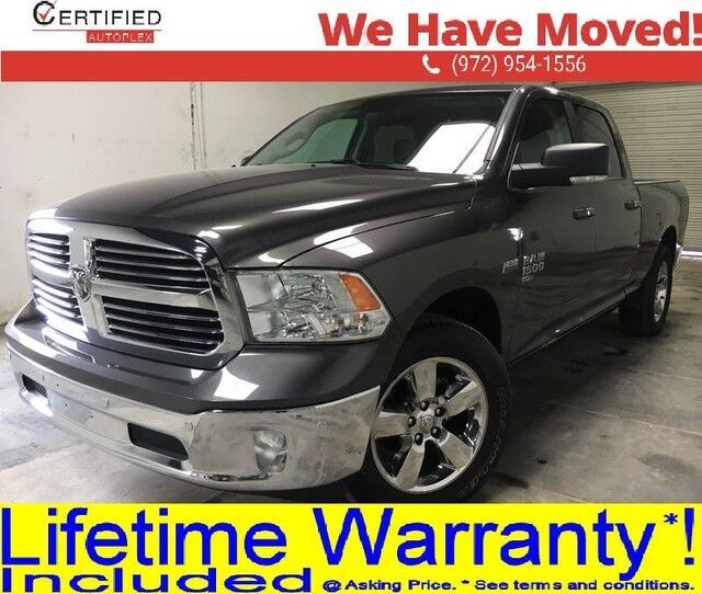 2019 Ram 1500 Classic BIG HORN CREW CAB 5.7L V8 HEMI PARK ASSIST REAR CAMERA BED LINER BL Dallas TX