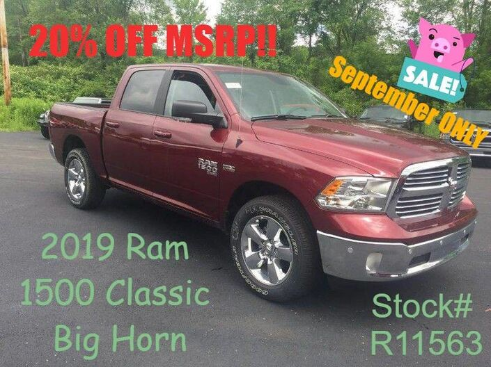 2019 Ram 1500 Classic Big Horn Rock City NY