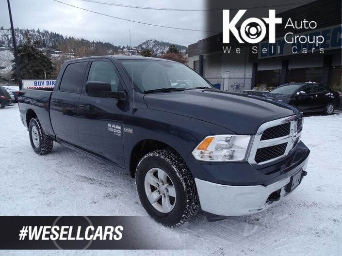2019 Ram 1500 Classic SLT, No Accidents, One Owner, Low KM's, Back-up Camera, Tow Package Kelowna BC
