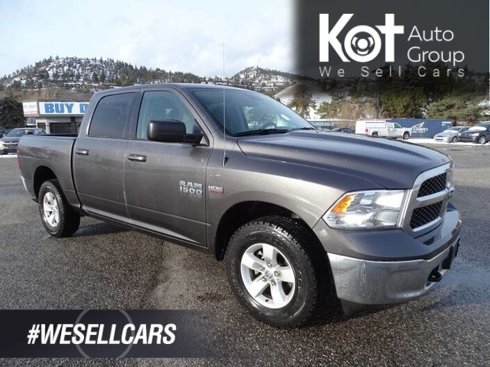 2019 Ram 1500 Classic SLT, No Accidents, One Owner, Low Km's, Tow Package, Back-up Camera Kelowna BC