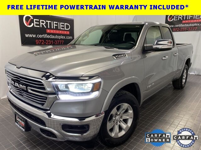 2019 Ram 1500 LARAMIE QUAD CAB 5.7L V8 HEMI REAR CAMERA LEATHER Dallas TX