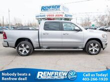 2019_Ram_1500_Laramie, 5.7L Hemi V8, Vented Leather Seats, 3.92 Gears, 124L Fuel Tank, Brake Controler, 20inch Wheels_ Calgary AB