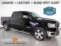 2019_Ram_1500 Laramie Crew Cab_*5.7L HEMI, BLIND SPOT ALERT, BACKUP-CAMERA, TOUCH SCREEN, LEATHER, PARK-SENSE, CLIMATE SEATS, ALPINE AUDIO, BLUETOOTH, APPLE CARPLAY_ Round Rock TX