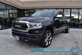 2019 Ram 1500 Limited / 4X4 / Air Suspension / Crew Cab / Auto Start / Heated Seats & Steering Wheel / Harman Kardon / Sunroof / NAV / Adaptive Cruise / Lane Departure & Blind Spot / Tonneau Cover / Bed Liner / Tow Pkg / Only 17k Miles / 1-Owner