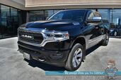 2019 Ram 1500 Limited / 4X4 / Crew Cab / Heated & Cooled Leather Seats / Heated Steering wheel/ Air Suspension / Adv Safety Pkg / Sunroof / Harman Kardon Speakers / Navigation / Adaptive Cruise / Auto Start / Power Running Boards / Tow Pkg / 1-Owner