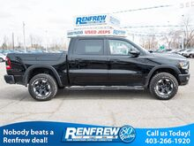 2019_Ram_1500_Rebel 4x4 Pano Sunroof, Remote Start, Heated Leather, RamBox System, (ONLY 200KMS)_ Calgary AB