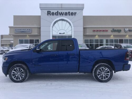 2019_Ram_1500_Sport - 5.7L Engine - Quad Cab - Heated Seats_ Redwater AB