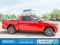 Ram 1500 Sport Crew Cab 4x4, Pano Sunroof, Remote Start, Nav, Cooled/Heated Leather 2019