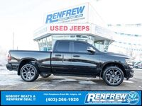 Ram 1500 Sport Quad Cab 4x4, Sunroof, Nav, Heated/Cooled Leather, Pwr Running Boards 2019