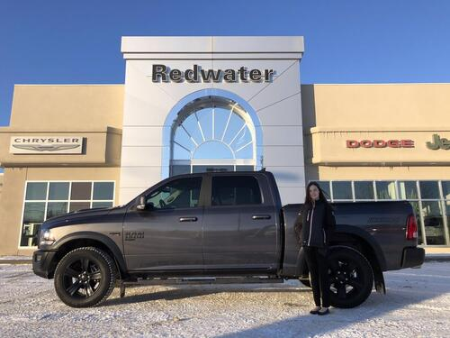 2019_Ram_1500_Warlock Crew Cab 4X4 - Power Sunroof - Navigation - 3.92 Gear Ratio - 8 Speed Trans - Remote Start_ Redwater AB