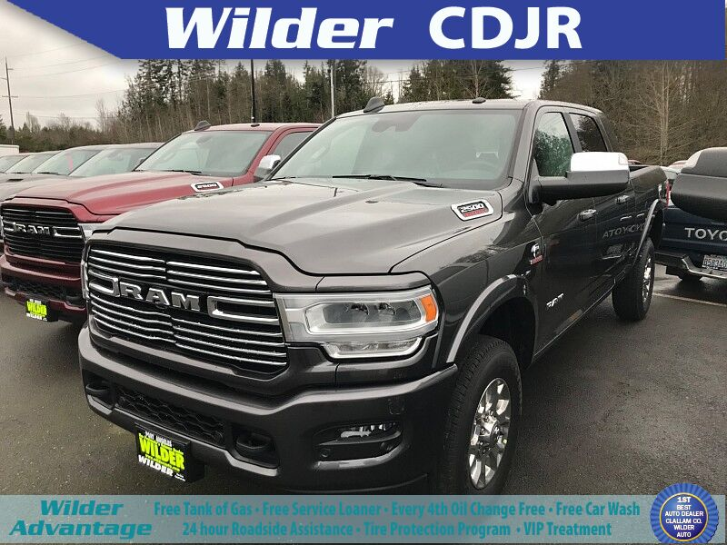 2019 Ram 2500 LARAMIE MEGA CAB 4X4 6'4 BOX Port Angeles WA