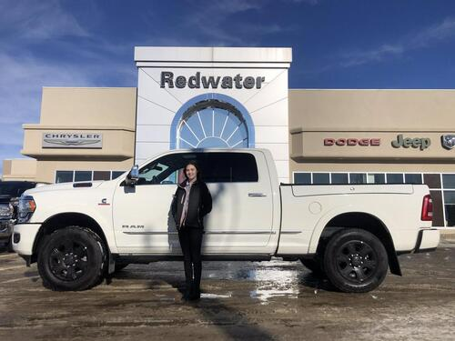 2019_Ram_2500_Limited  - 4X4 - Cummins Diesel - Sunroof - Towing Technology Group - Ram Box - Rear Auto Level Sus._ Redwater AB